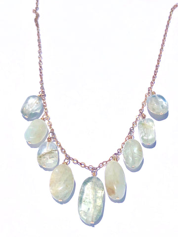 Drops of Jupiter Rutilated Quartz Necklace