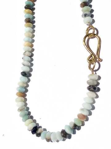 Amazonite Balance Necklace