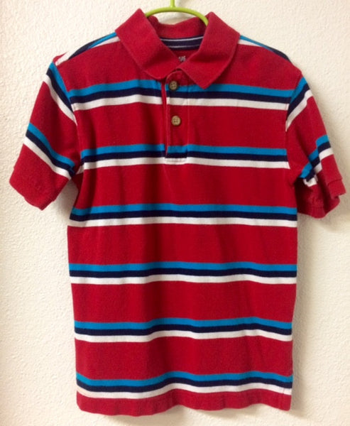 5T-6 Children's Place Striped Polo Shirt