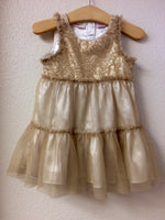 18M Amy Coe Gold Sequin Dress