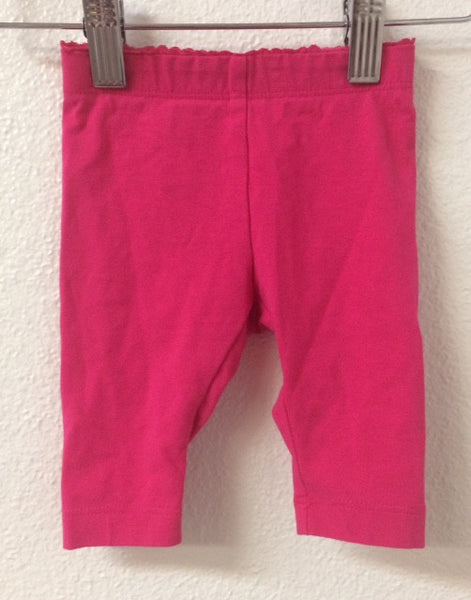 03M-6M Tea Collection Pink Leggings