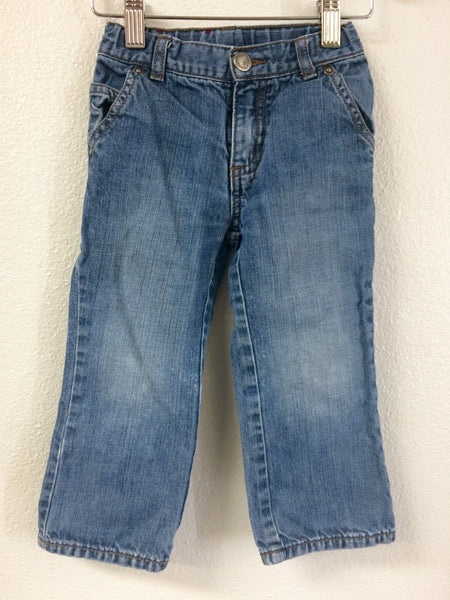 2T Tea Collection Straight Leg Jeans