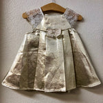 24M Catharine Malandrino Gold Dress