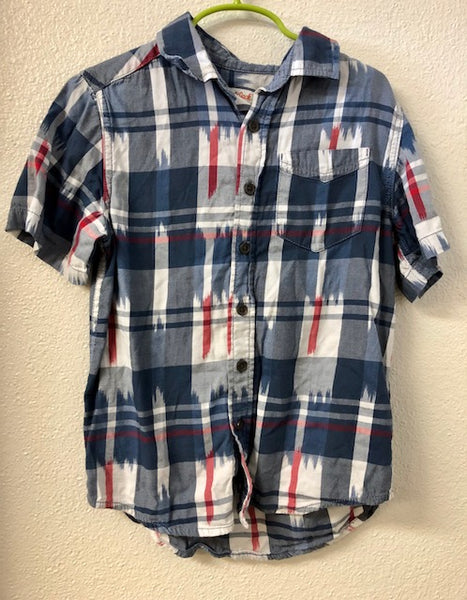 Size 6/7 Cat & Jack Ikat Shirt