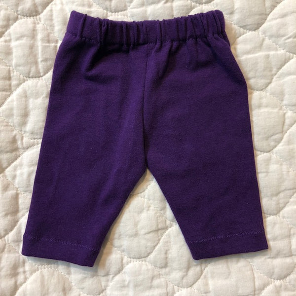 Crop pants- purple