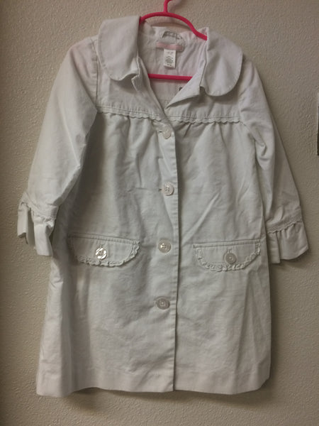 Size 6 Janie and Jack White Dress Jacket