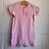 06M-9M Moon And Back Organic Romper