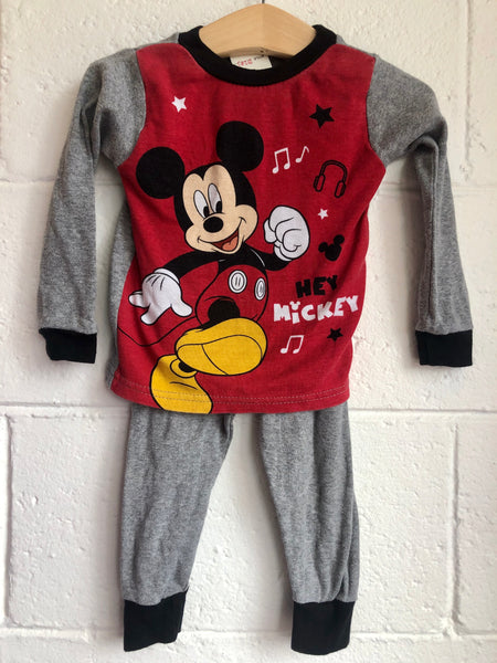 2T Mickey Mouse Pajamas