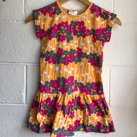 Size 7 (120cm) Hanna Andersson Flower Dress