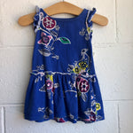 06-12M Tea Collection Flower Dress