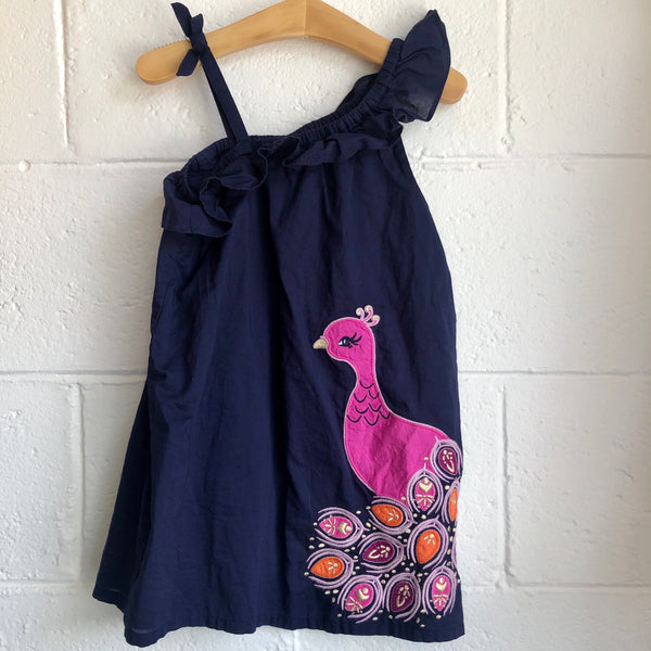 3T Gymboree Peacock Dress
