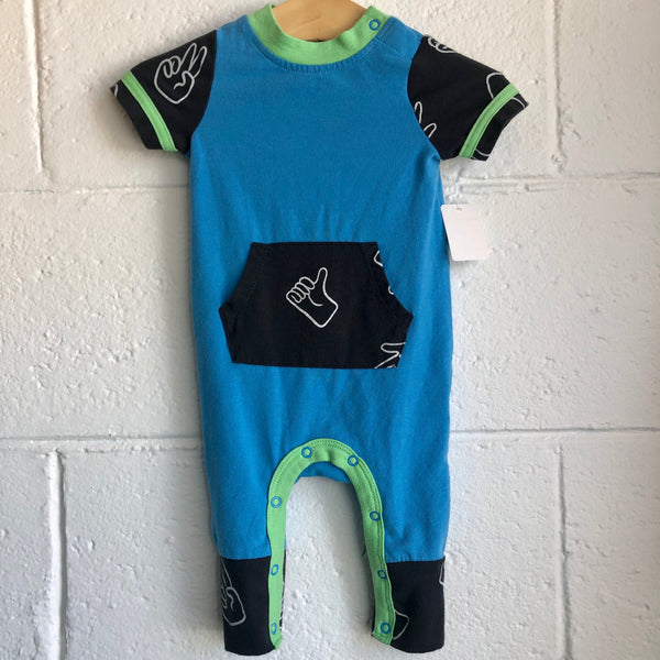 0-3M Cat & Jack Peace Romper