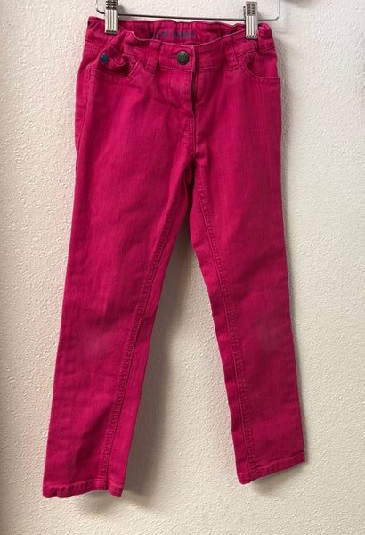 Size 7 Mini Boden Pink Skinny Jeans