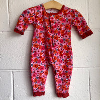 3-6M Magnificent Baby Magnetic Flower Sleeper/romper