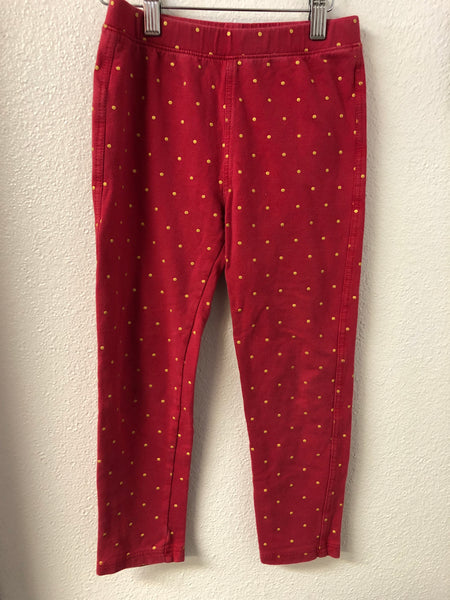 6bb0f4709 Size 7 Tea Collection Gold Polka Dot Jeggings – JuJuBees