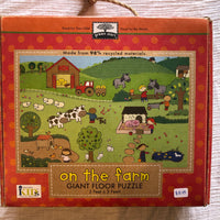 On The Farm Giant Floor Puzzle