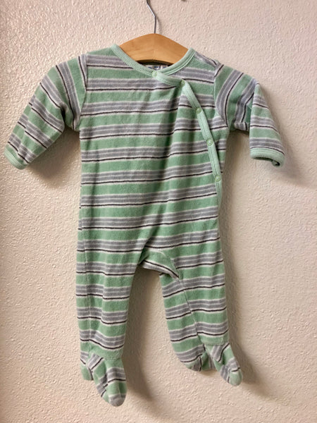 3-6M Under the Nile Velour Pajamas