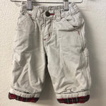 03-6M Old Navy Flannel Lined Pants