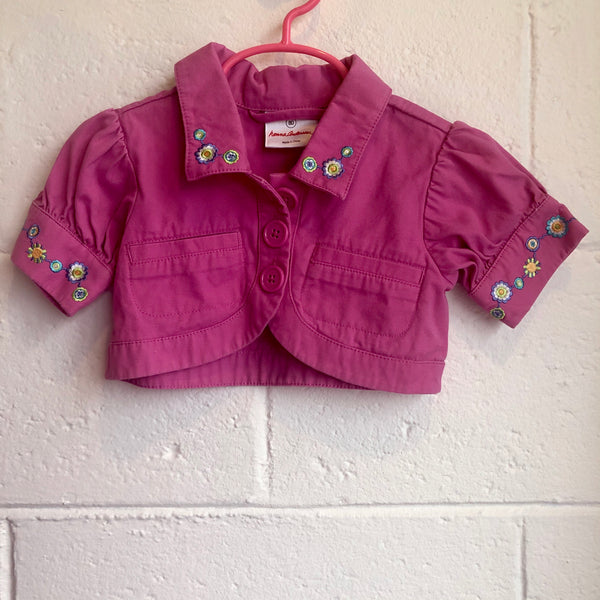 18M Hanna Andersson Crop Jacket NEW
