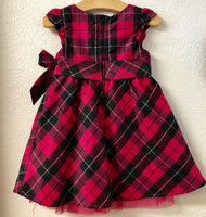 2T Old Navy Pink Plaid Dress