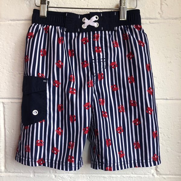 Size 6-7 Cat & Jack Crab swim trunks