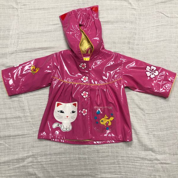 12-18M Kidorable Kitty Cat Rain Jacket