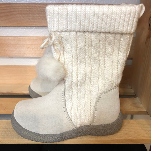 Size 7 Janie and Jack Sweater Boots