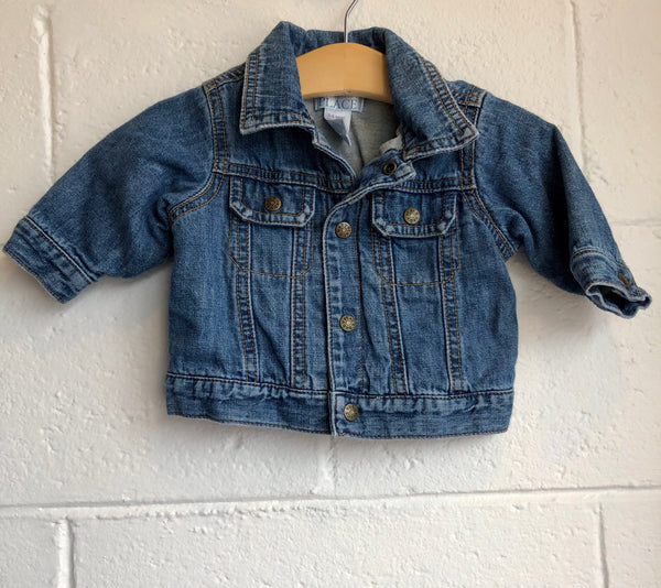 03-6M Children's Place Jean Jacket