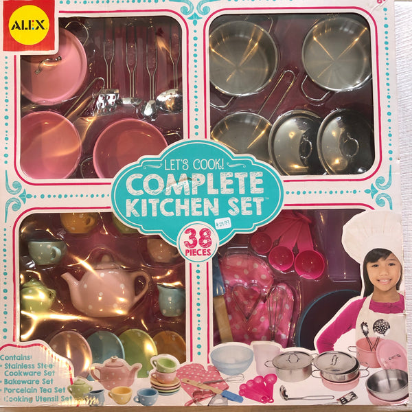ALEX Lets Cook Complete Kitchen Set