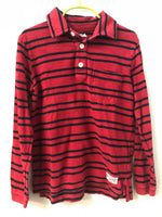 Size 6/7 Gap Kids Red Striped Shirt