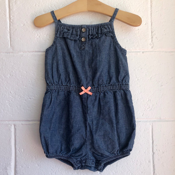 18M Carter's Denim Romper