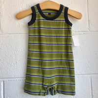 3-6M Tea Collection Striped Romper