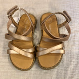 Size 6 Cat & Jack Rose Gold Sandals