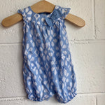 NB Carters Ikat Shorts Romper