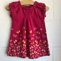 06-12M Tea Collection Butterfly Dress