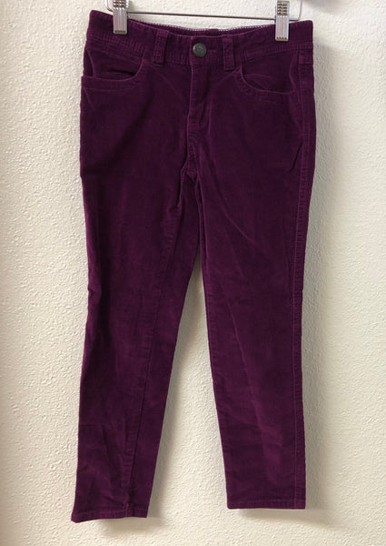 Size 7 Tea Collection Purple Velvet Pants