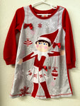 4T Elf on the Shelf Nightgown