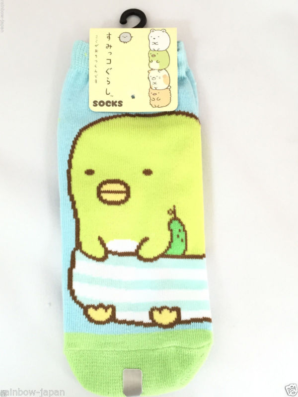 San-X SumiKKO gurashi Socks 1pair 22 -24 cm Official Women's Socks A From JAPAN