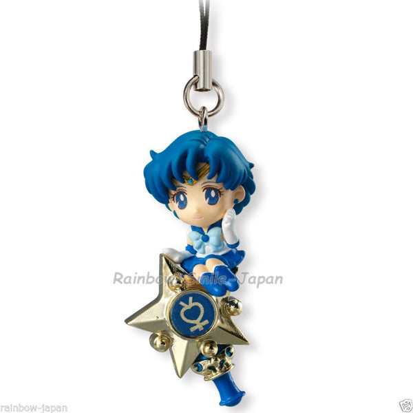NEW Cute Key Charm Sailor Moon Twinkle Dolly Mercury BANDAI iphone phone Mascot