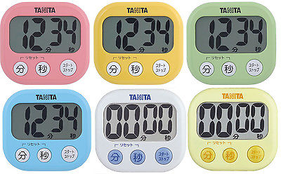 New TANITA Digital Kitchen Cooking Timer TD-384 Alarm Count Up Down from JAPAN