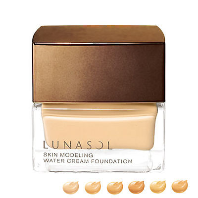 LUNASOL SKIN MODELING WATER CREAM FOUNDATION 30g SPF20 PA++ Makeup JAPAN