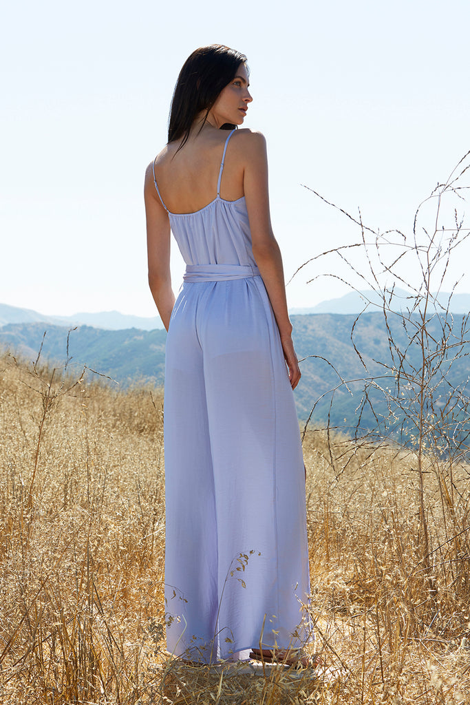 OPAL COWL NECK JUMPSUIT