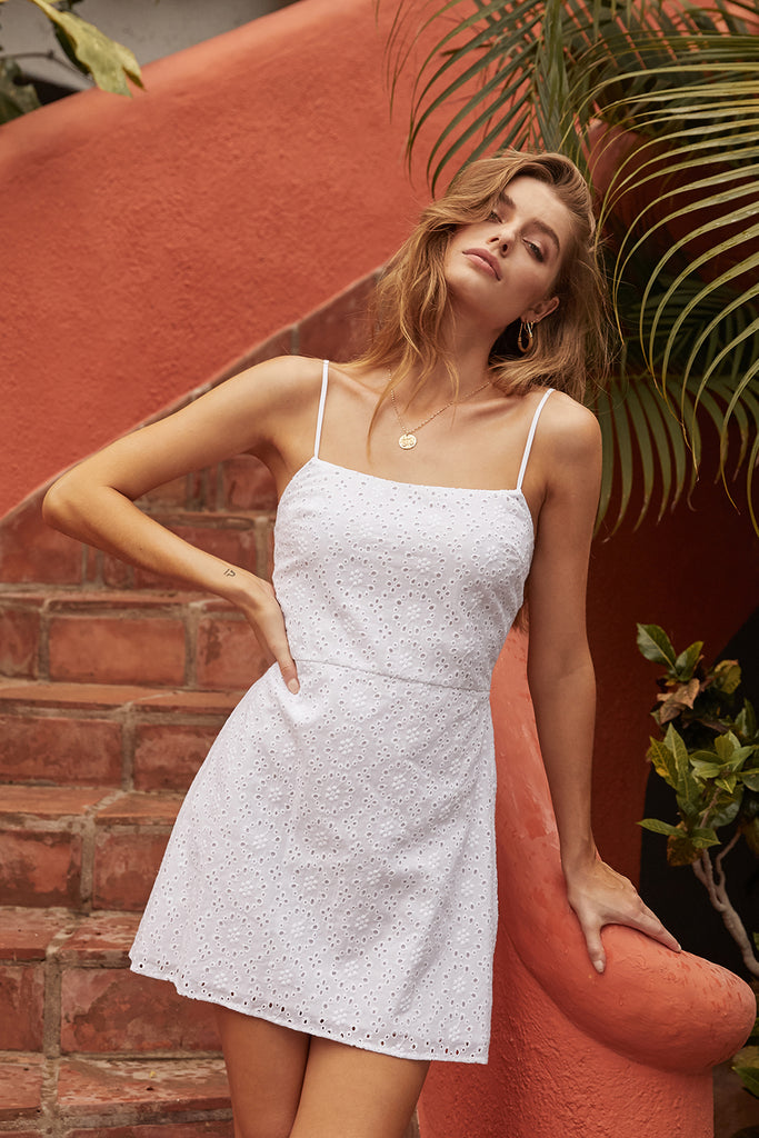 HIGHWAY STAR SLIP DRESS