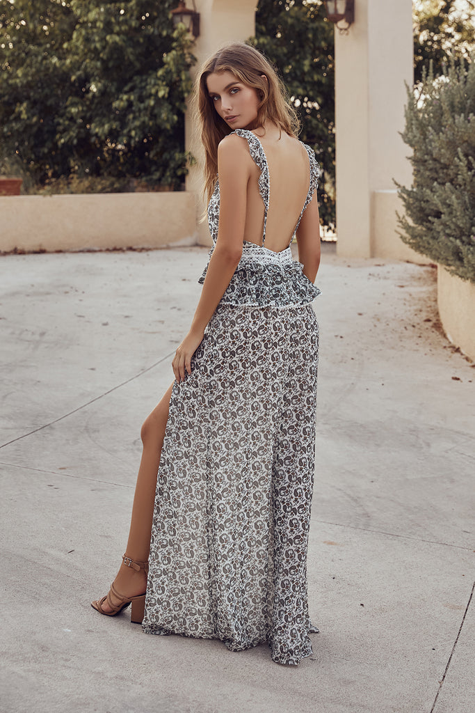 DAZED AND CONFUSED MAXI DRESS