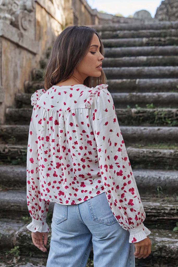 FALLING FOR YOU BLOUSE