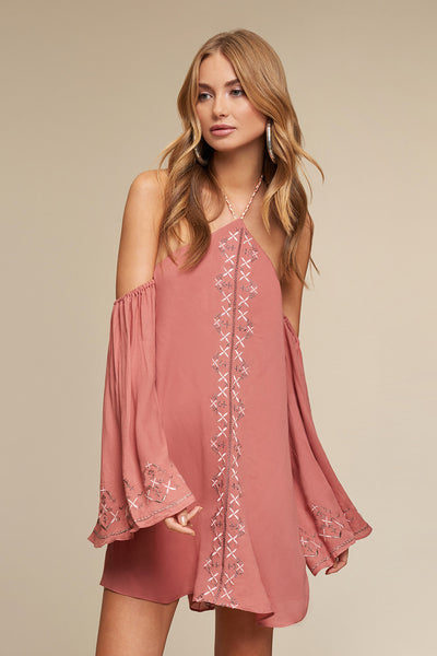 DESERT ROSE MINI DRESS