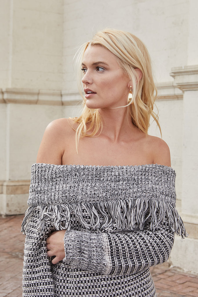 WESTWOOD KNIT TASSLE SWEATER