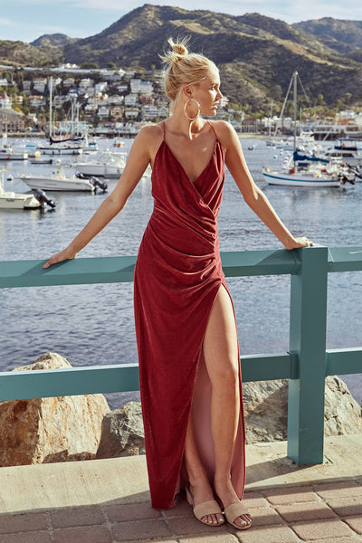 ANGUILLA MAXI DRESS