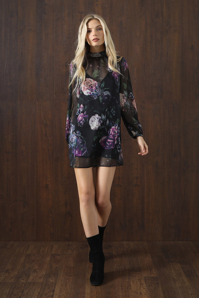 The Jetset Diaries Peony Mini Dress 9JIzR4gOCW