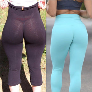 Do you or do you not wear underwear with yoga pants?!